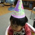 三角帽子でパーティー
